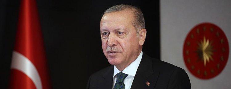 Cumhurbaşkanı Erdoğan'dan '1915 Çanakkale Köprüsü' paylaşımı