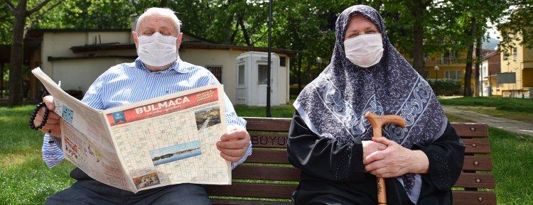 Sokağa çıkma izni devletten, bulmacalar Başkan Alinur Aktaş'tan