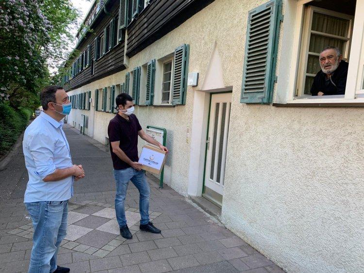YTB Desteğiyle Almanya'da Yaşayan Gençlerden Örnek Davranış