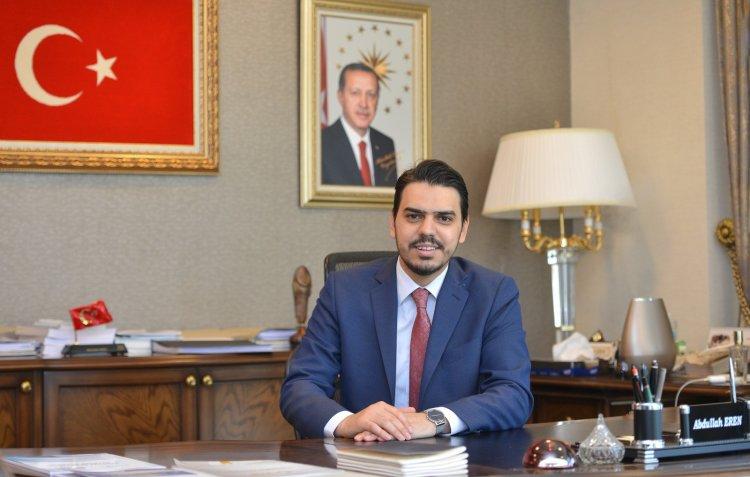 Yurtdışı Türkler ve Akraba Topluluklar Başkanı Abdullah Eren'in Ramazan Bayram Mesajı