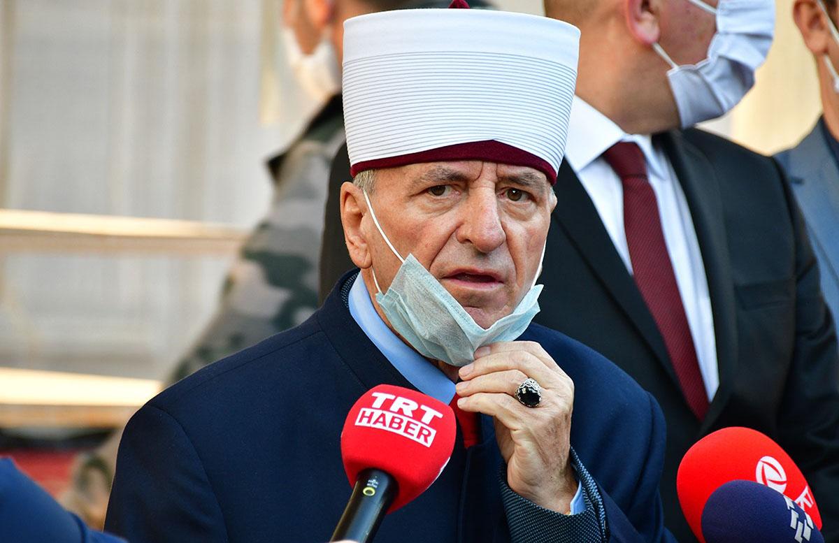 İslam Birliği Başkanı Recepi görevden alındı