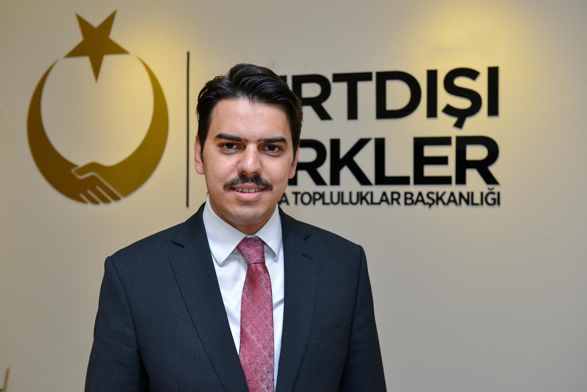 """YTB Başkanı Abdullah Eren: """"müjdeyi verdi"""""""