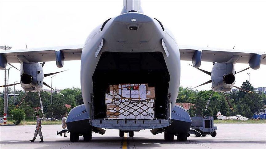 Türkiye yardım elini Afganistan'a uzattı