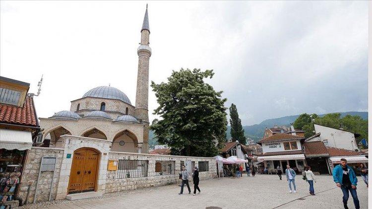 Saraybosna'daki Başçarşı Camisi ibadete açılıyor