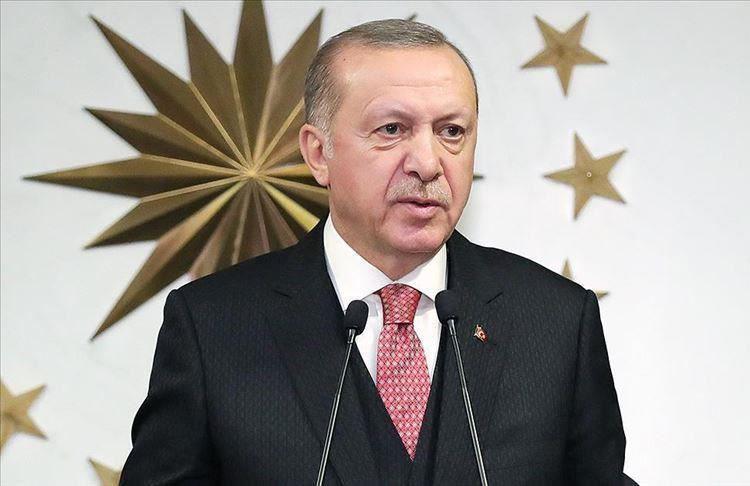 Cumhurbaşkanı Erdoğan'dan Dünya Mülteciler Günü paylaşımı