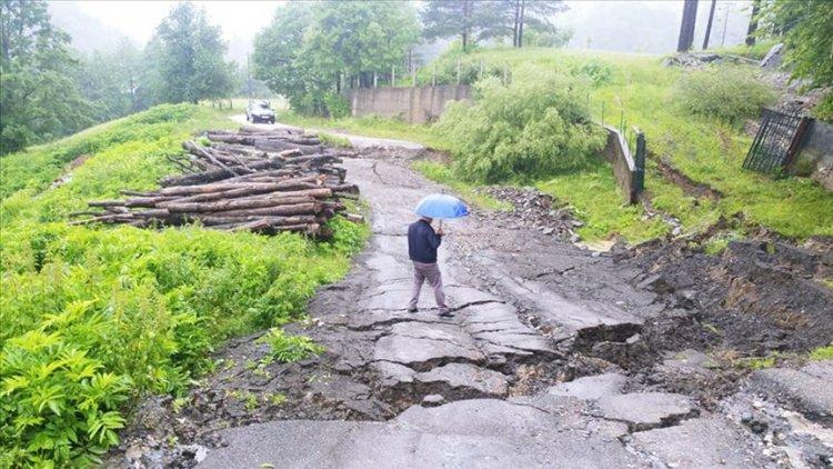 Bosna Hersek ve Sırbistan'da taşkın ve heyelanda bine yakın ev zarar gördü