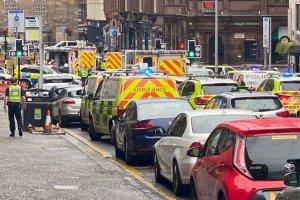 İskoçya'da Glasgow şehrinde silahlı saldırı yaşandı