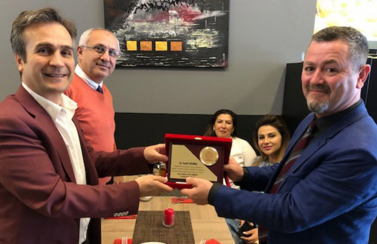 Suphi hoca Dortmund Türk Eğitim merkezine veda etti