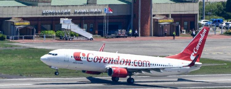 Corendon Airlines Zonguldak Havalimanına ilk seferi yaptı!