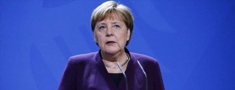 Şansöyle Merkel: Koronavirüs sebebiyle Avrupa zor durumda