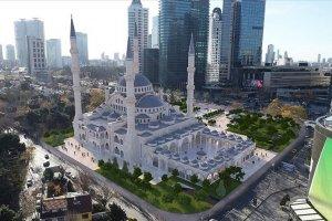 Başkan Erdoğan Levent Camii'nin temelini attı