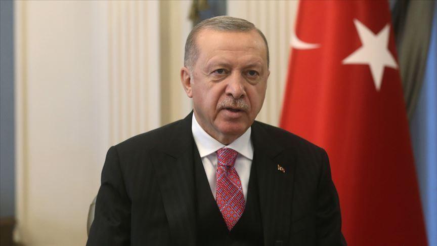 Cumhurbaşkanı Erdoğan'dan Barbaros Hayrettin Paşa Camii paylaşımı