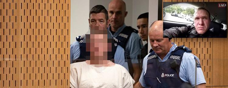Yeni Zelanda'da camilere saldıran terörist hakim karşısına çıkıyor