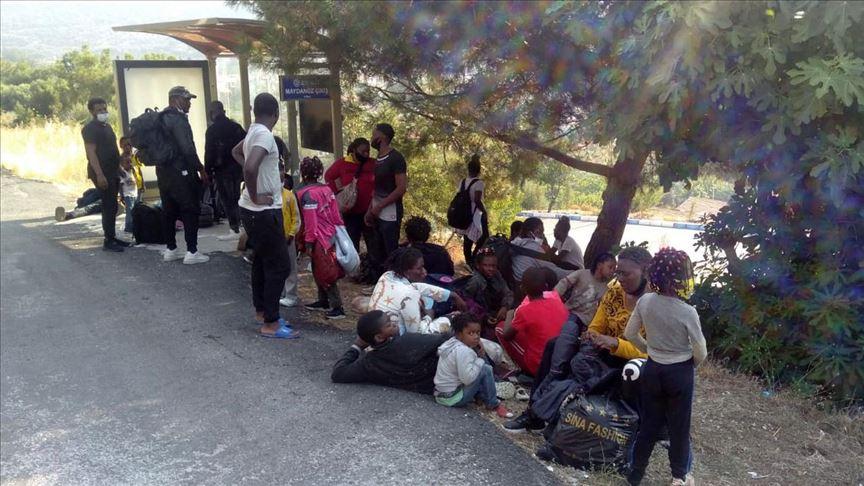Yurt dışına çıkmaya çalışan sığınmacılar yakalandı