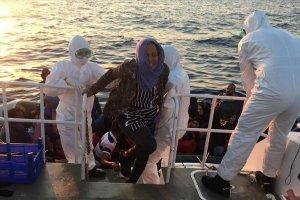 İzmir'de sığınmacılar kurtarıldı