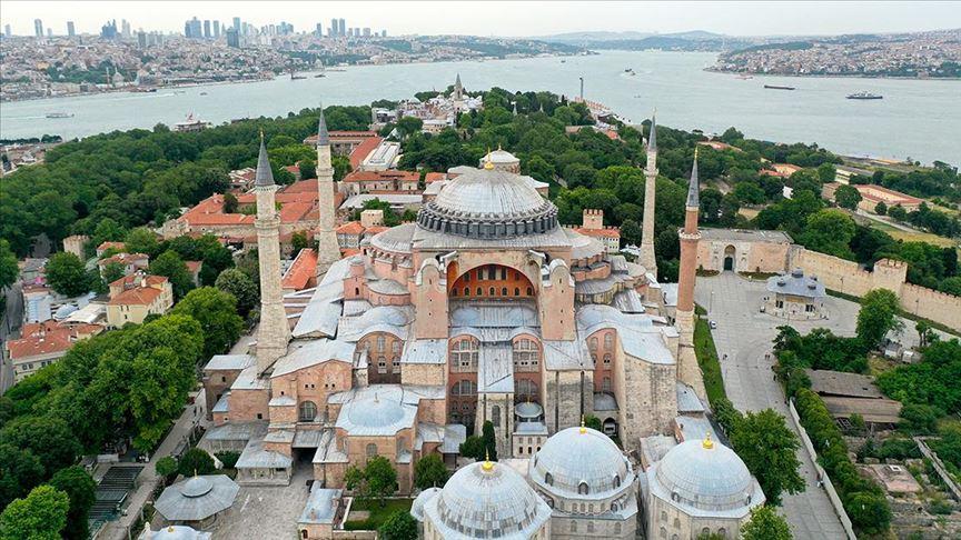Dünden bugüne Ayasofya-i Kebir Camii