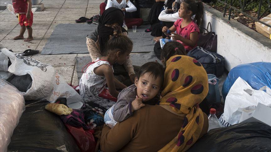 Almanya'nın Yunanistan'daki mülteci kamplarına ilişkin raporu