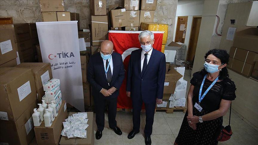 TİKA'dan Kudüs'e tıbbi ekipman desteği