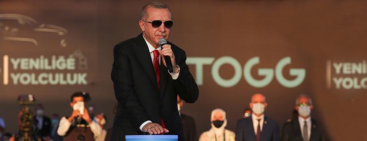 Cumhurbaşkanı Erdoğan, Türkiye'nin yerli otomobil fabrikasının temelini attı