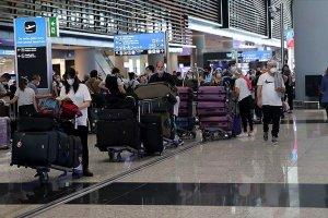 İstanbul havalimanları yılın ilk yarısında 20 milyonu aşkın yolcuyu ağırladı