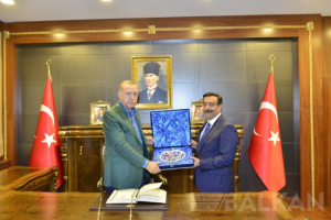 Rumeli Dernek Başkanları Ankara'yı  ziyaret ettiler