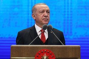 Cumhurbaşkanı Recep Tayyip Erdoğan, 2 Yıllık Değerlendirme Toplantısı'nda katılımcılara hitap etti