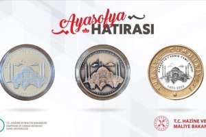 Ayasofya-i Kebir Camii özel parası basıldı
