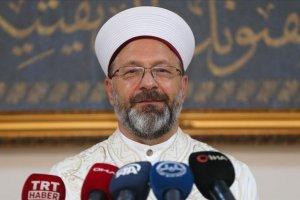 Diyanet İşleri Başkanı Erbaş: Ayasofya Camii'ne 3 imam ve 5 müezzin atıyoruz