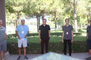 Alman turizm acentelerinden Antalya'da golf sahalarına tam not