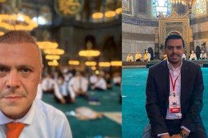 Ayasofya-i Kebir Camii'nin açılışına tanıklık edenler sevinçlerini paylaştı