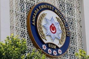 Ankara Emniyet Müdürlüğü FETÖ/PDY'ye yönelik 935 operasyon düzenledi