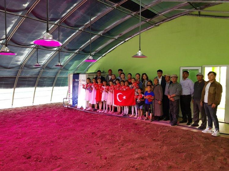 TİKA'nın Moğolistan'a tarım alanındaki desteği devam ediyor