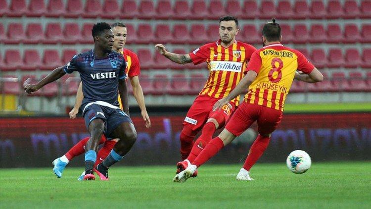 Süper Lig'de Ankaragücü, H. Kayserispor ve BtcTurk Yeni Malatyaspor küme düştü
