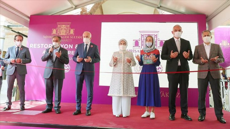 Mihrişah Valide Sultan İmareti restorasyonu tamamlanarak törenle açıldı