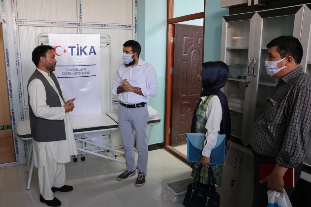 TİKA'dan Afganistan'da Çocuk Islahevine destek
