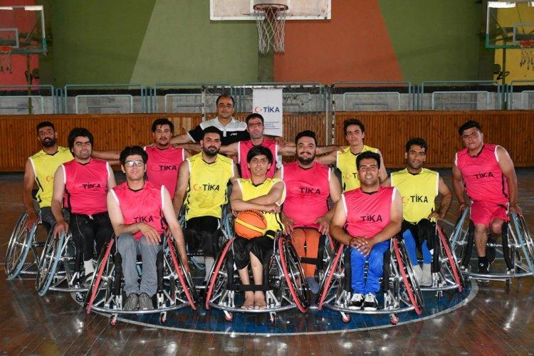 Afganistan'da engelli sporuna TİKA'dan destek