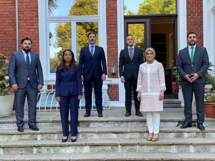AK Parti milletvekili Sırakaya UID Genel Merkezi'ni ziyaret etti