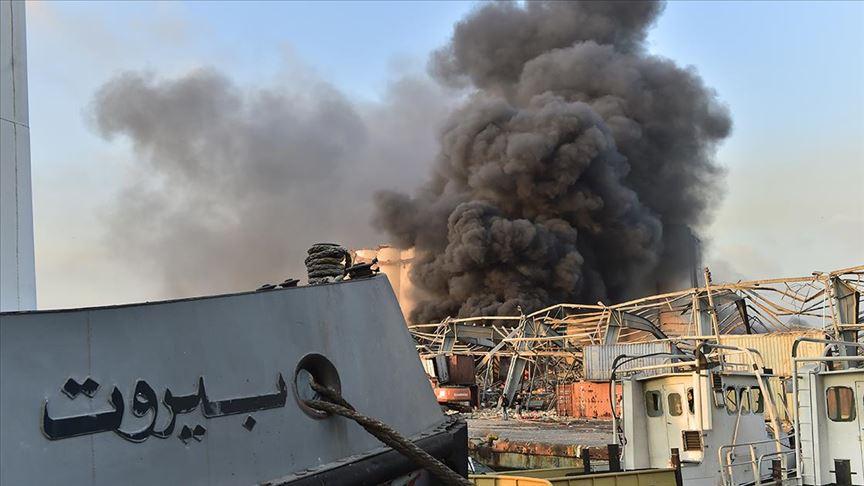 Lübnan'ın başkenti Beyrut'ta patlama: 50 kişi öldü, 2 bin 750 kişi yaralandı