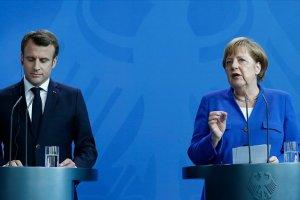 Merkel ve Macron'dan 'Doğu Akdeniz' açıklaması