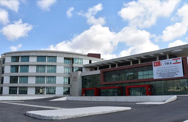 TİKA Lübnan'daki Türk Hastanesi'ni açıyor