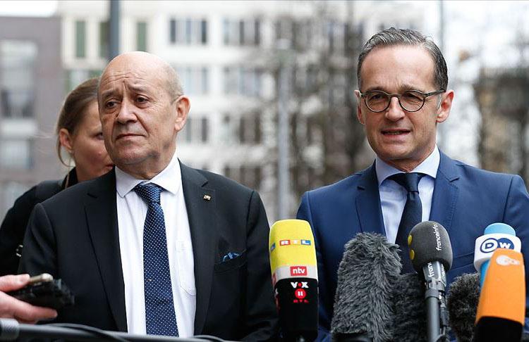 Fransa ve Almanya'dan Türkiye ile diyalog geliştirmeyi bildirdiler