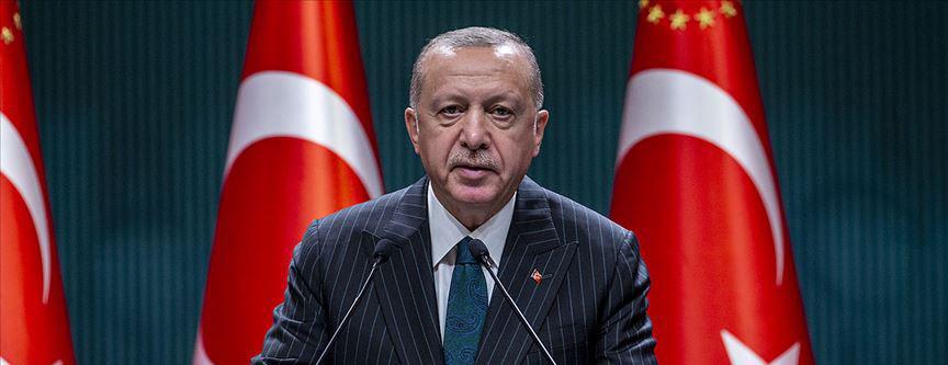 Cumhurbaşkanı Erdoğan: Milletimiz bu cennet vatanı asla böldürtmeyecektir