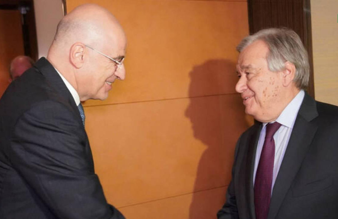 Yunanistan Başbakan Miçotakis'in Mektubu Guterres'e ulaştı