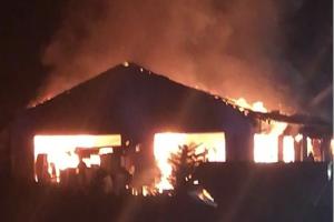Achern Selimiye Camii'nde yangın çıktı