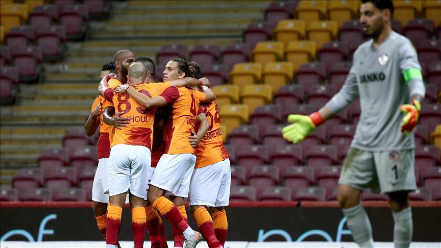 Galatasaray yeni sezona 3-1 başladı