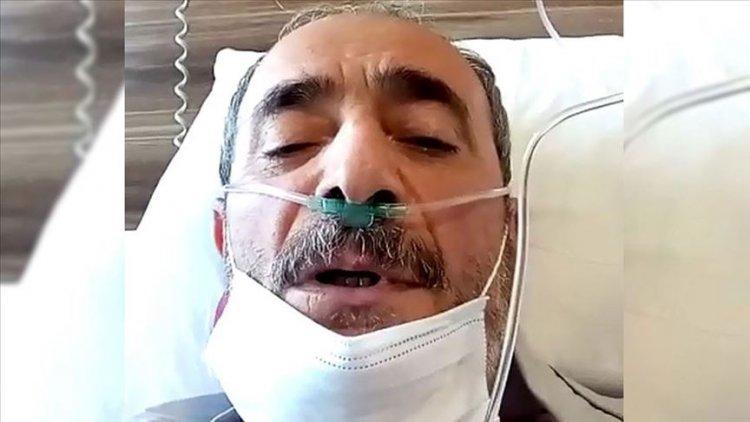 Kovid-19'dan hayatını kaybeden hastanın son mesajı