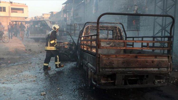 Afrin'de yine terör saldırısı