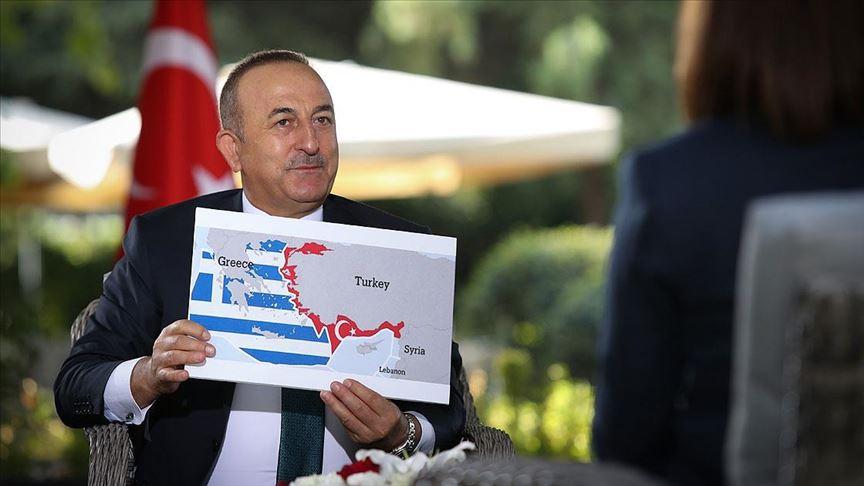 Bakan Çavuşoğlu: Türkiye Doğu Akdeniz'de geri adım atmaz