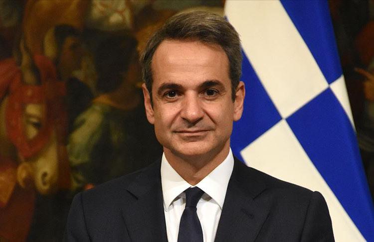 Yunanistan Başbakanı Miçotakis'ten Türkiye ile diyalog mesajı