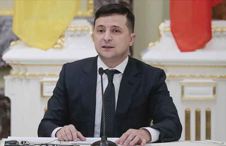 Başkan Zelenskiy'den Türk şirketine teşekkür